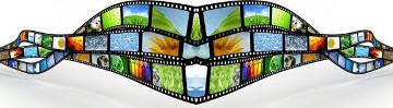 Bild eines Filmstreifens